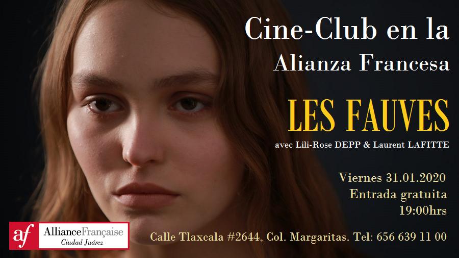 """Cine-Club en la Alianza Francesa. Película """"Les fauves"""""""
