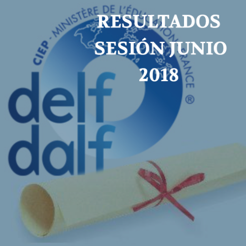 Resultados DELF/DALF Junio-T- 2018