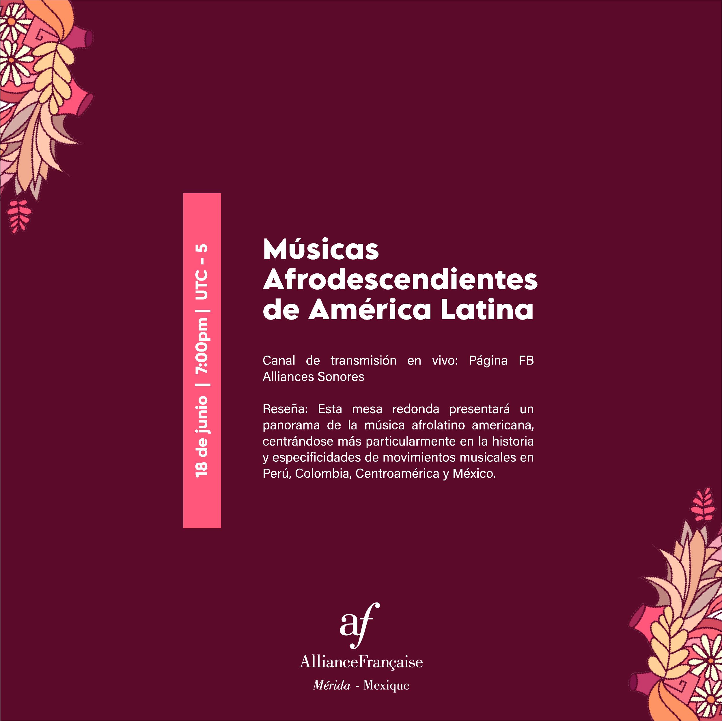 Historia de la música de afrodescendientes en América Latina y el Caribe