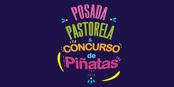 Posada pastorela y concurso de piñatas