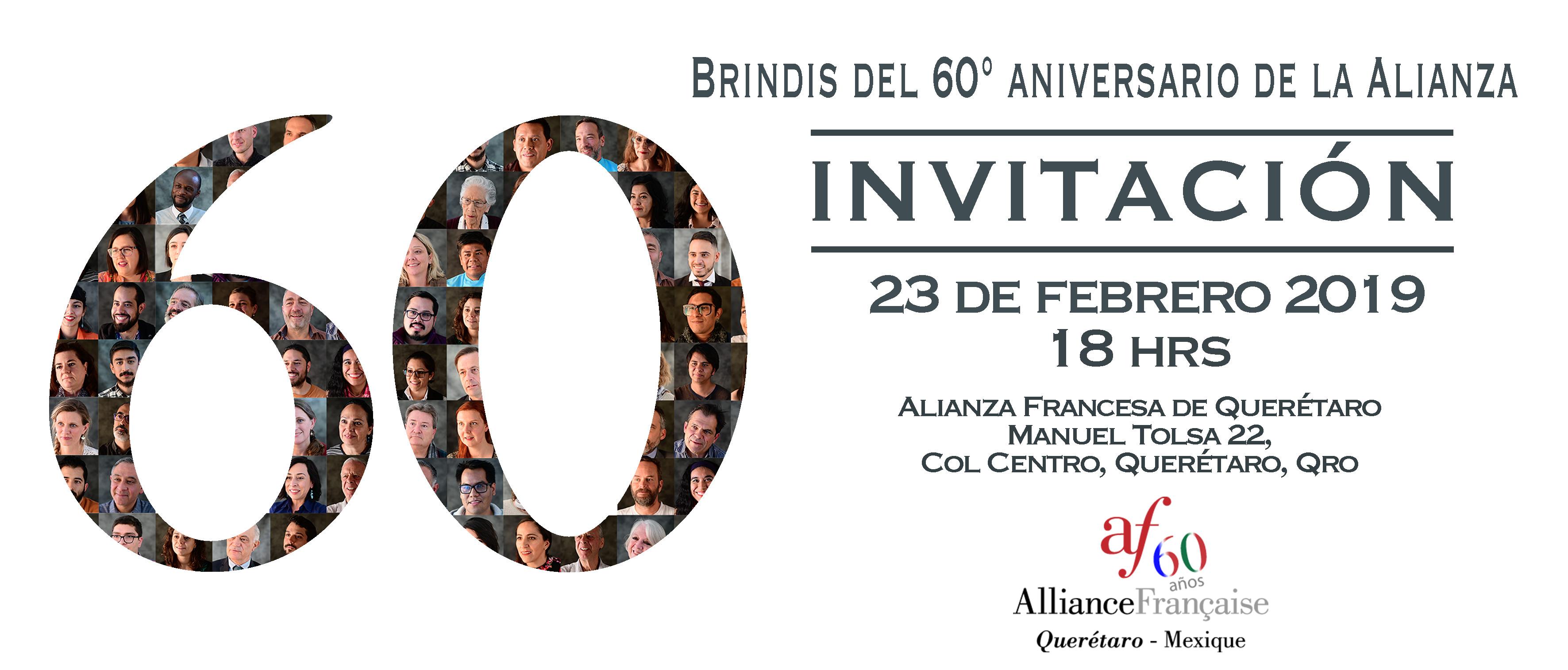BRINDIS ANIVERSARIO 60 AÑOS