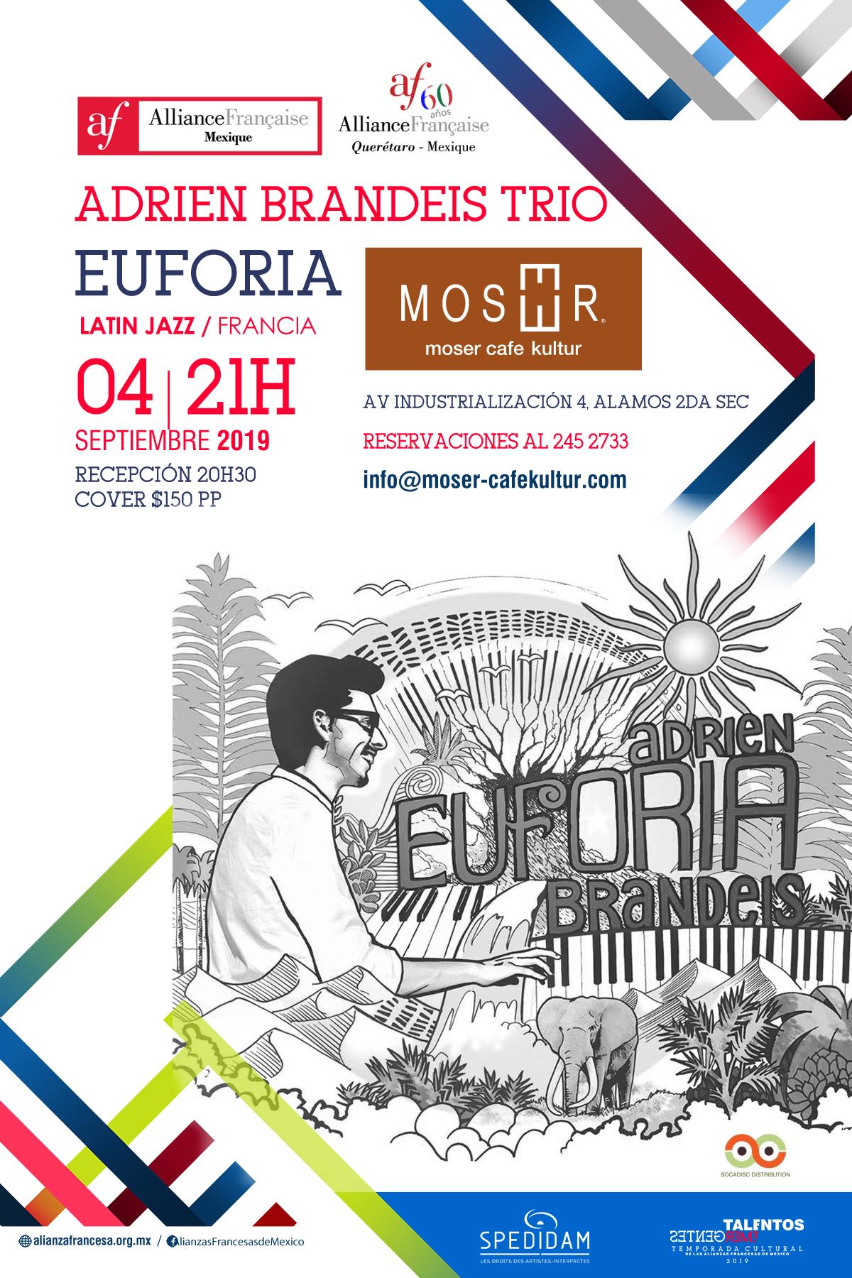 Adrien Brandeis Jazz Trio al Moser