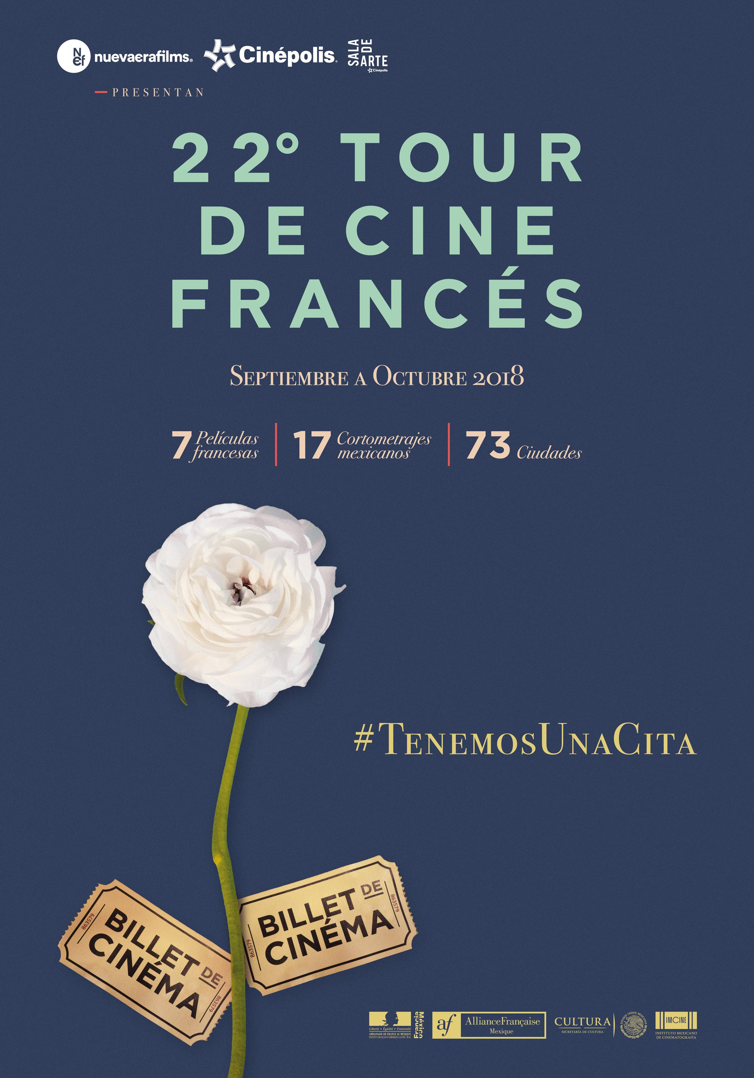 22º Tour de Cine Francés