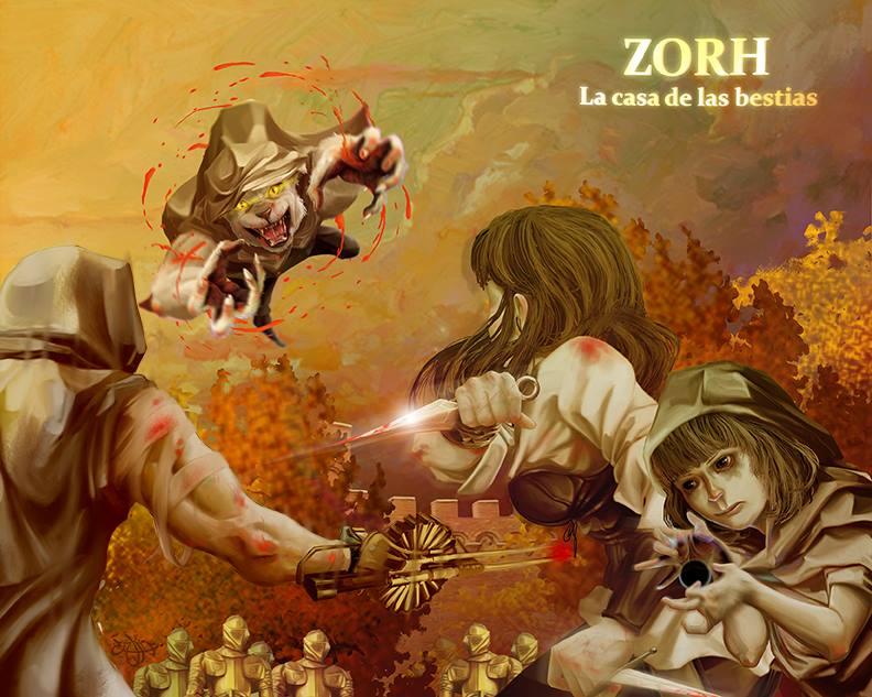 Presentación del libro Zorh: La casa de las bestias