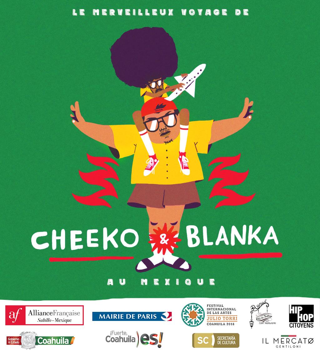Le merveilleux voyage de Cheeko et Blanka au Mexique
