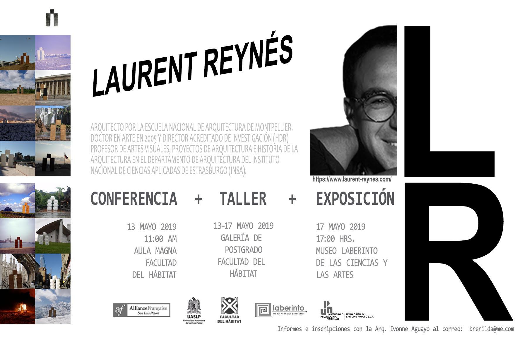 Doctor Laurent  Reynés presenta conferencia, taller y exposición en San Luis Potosí