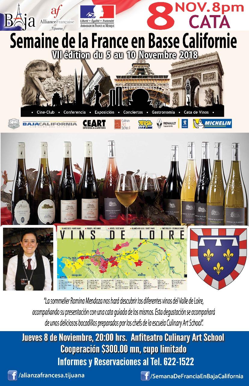 Semana de Francia en BC: jueves 8/11/2018