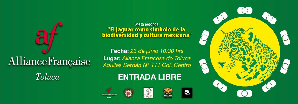 """Mesa redonda """"El jaguar como símbolo de la biodiversidad y cultura mexicana"""""""