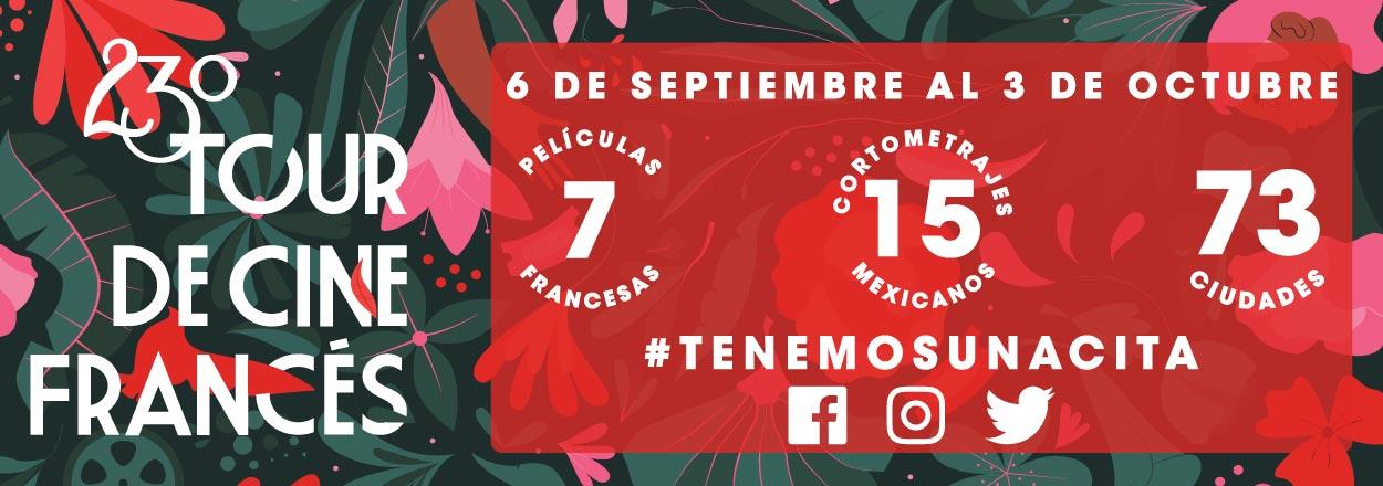 23º Tour de Cine Francés en Mexicali