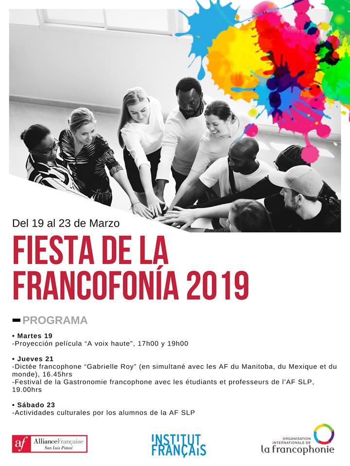 Fiesta De La Francofonía 2019