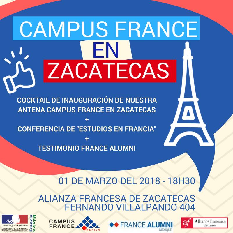 Inauguración Antena Campus France